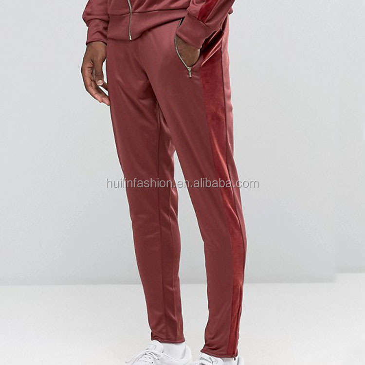 New Fashion men track pants 100%polyester jogger
