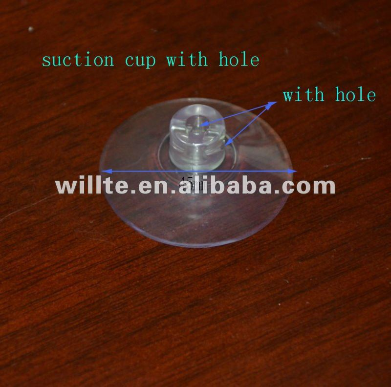 best-selling strong adhesive Suction Cups with hole-M2-45mm