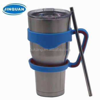 Jinquan High Performance Double Walled Insulated Stainless Steel Travel Coffee Mug Large 30 Oz Vacuum