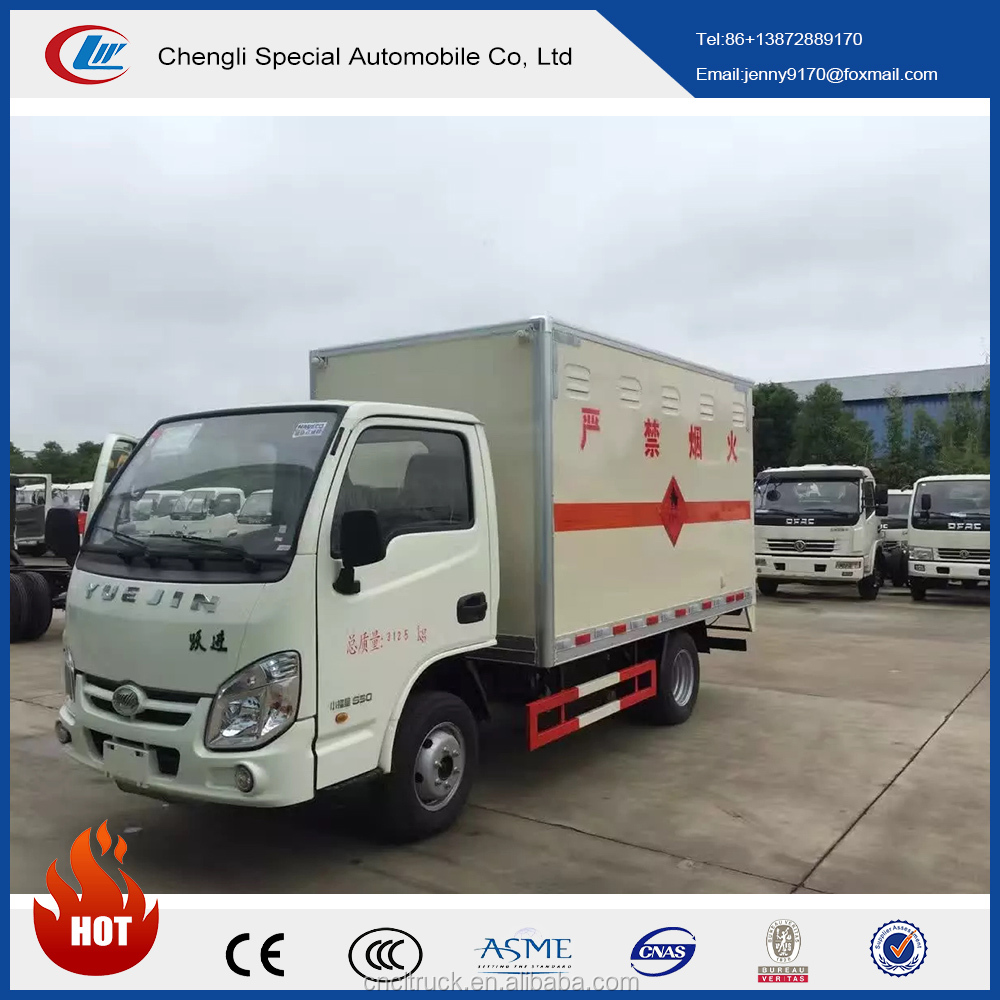 HOT SALE!DONGFENG 4*2 low van body Riot vans sale from China