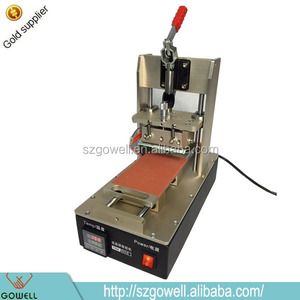 lcd making machine oca removing loca removal uv optical glue remove machine for samsung for iphone