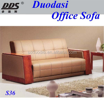 Simple Modern Top Grain Imported Leather Wooden Sofa Set Designs And