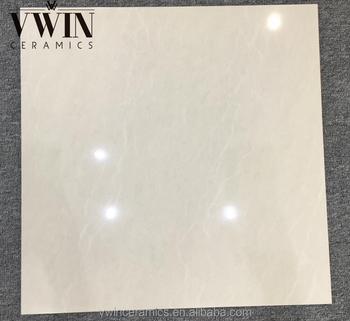 Two Layers White Shiny Polished Porcelain Tiles Floor Tiles - Buy ...