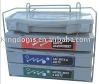 1200pc nut,bolt &washer tool case