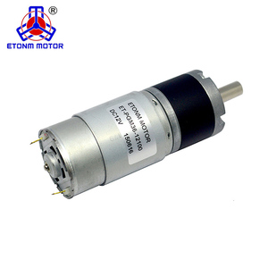 low rpm high torque 24v brush/ brushless dc electric gear motor