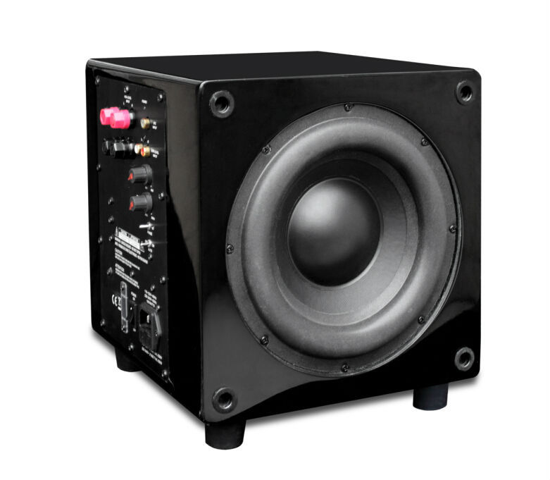 "New products best selling 10"" 100 Watt Powered/Active Studio Subwoofer Pro Reference speaker Subwoofers"