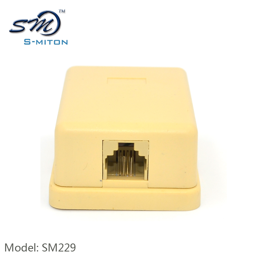 List Manufacturers Of Outdoor Telephone Box Buy Wiring Assembled 2 Pair Cable 1port Rj11 Junction