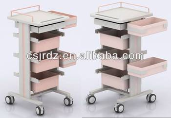 supply the thin medical check cart for hospital