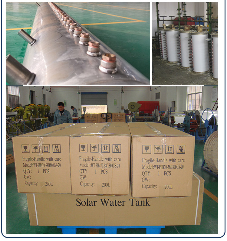 2016 top level of heat pipe suntask solar collector