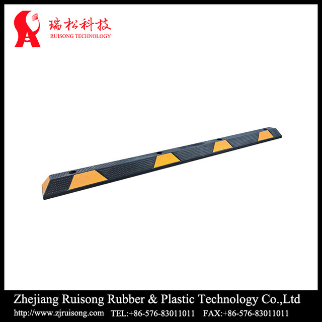 Garage And Parking Lot Construction Recycle Portable Rubber Car Wheel Stops