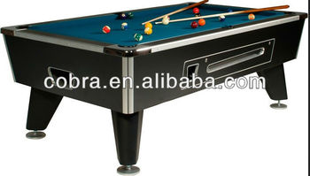 club slate billiard tablemanual coin pool tablemarble pool table game with coin - Slate Pool Table
