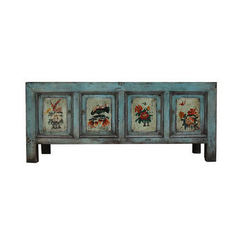 Whole Chinese Oriental Old Vintage Mongolian Buffet Sideboard Furniture Product