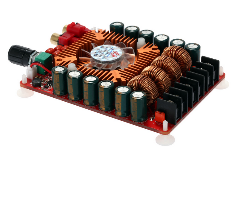 TDA7498E M/ódulo de placa de amplificador de potencia est/éreo de audio de doble canal de alta potencia 160W 160W