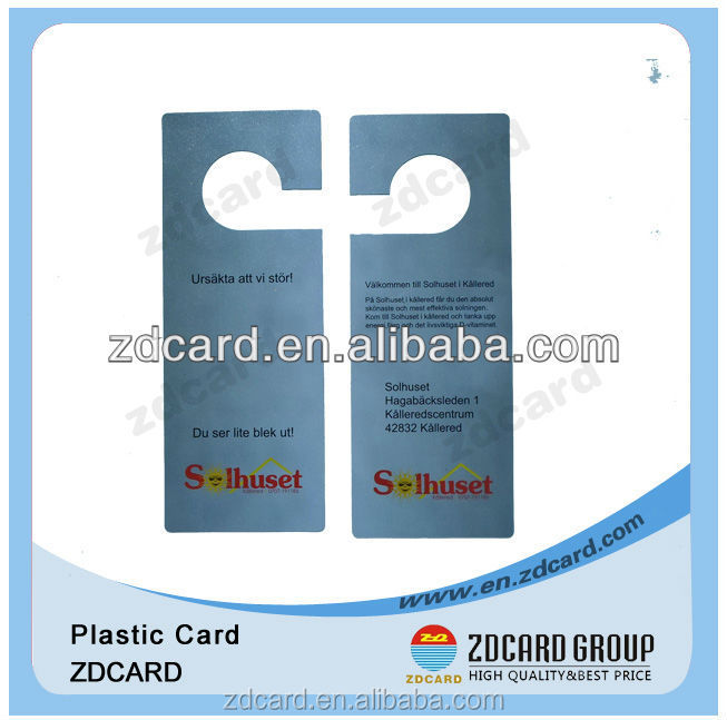 wholesale PVC apperal card stock tags