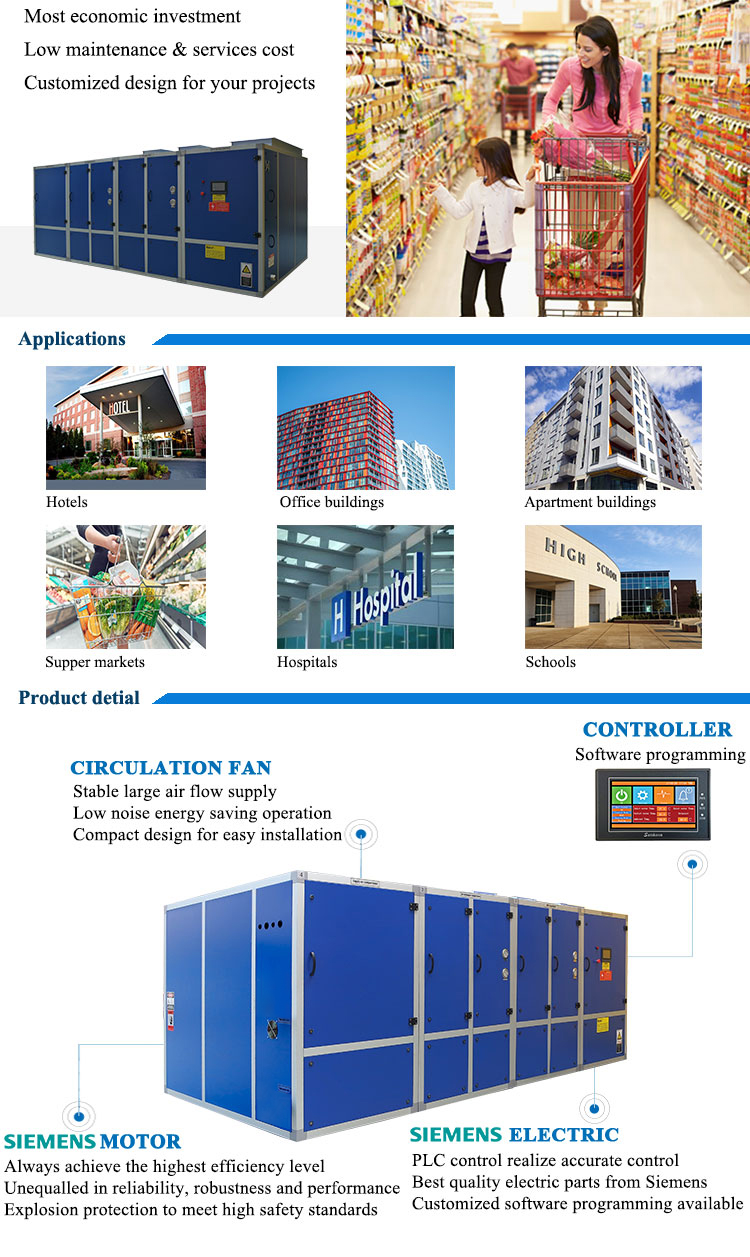 ODM/OEM dehumidifier machine ahu systems