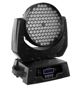 108x3w rgbw led 108 led moving head beam zoom wash stage lighting