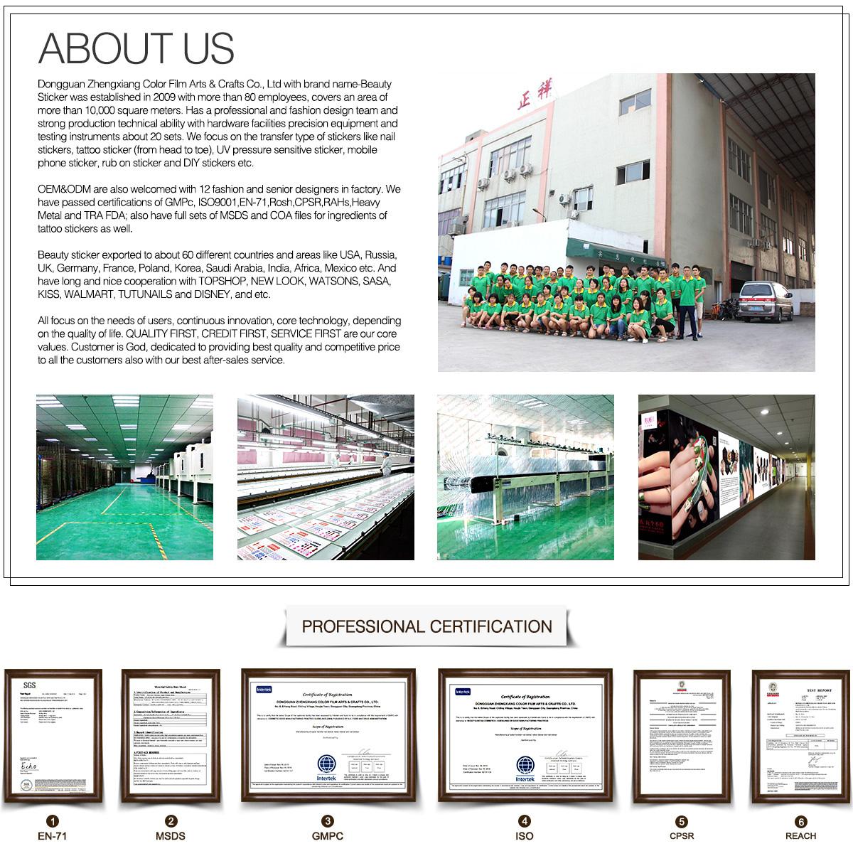 Dongguan Zhengxiang Color Film Arts And Crafts Co., Ltd. - Nail ...