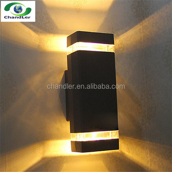 wall mounted 8w led wall light outdoor up and down ip65 waterproof