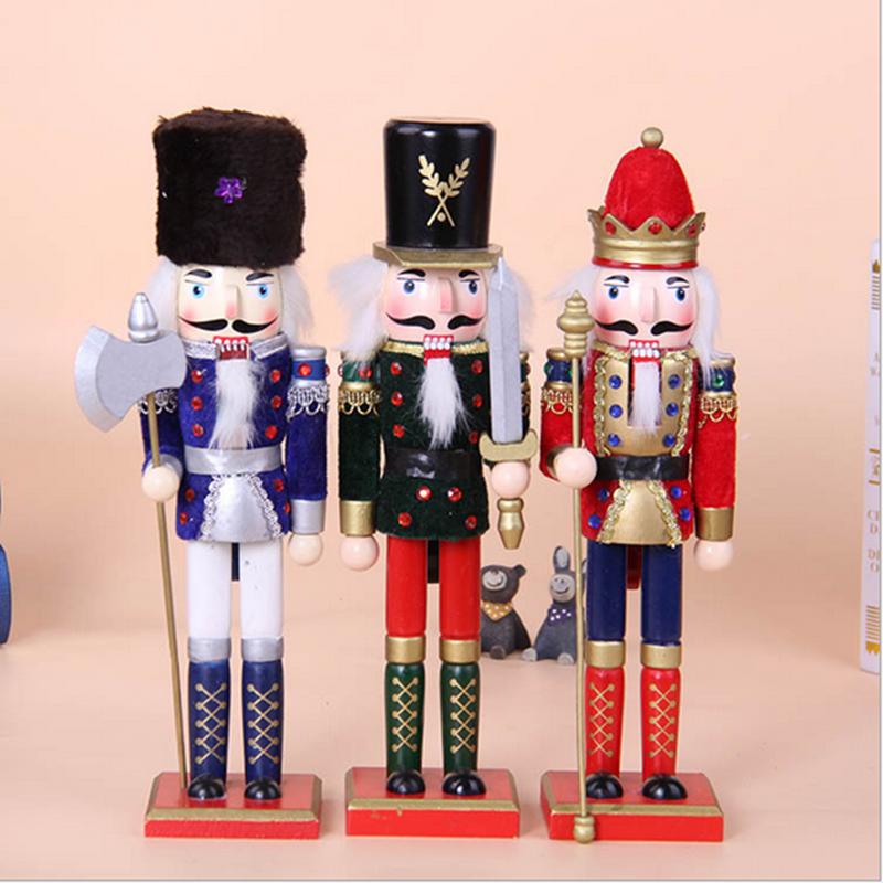 Hohe Qualität Weihnachtsdekoration Holz Nussknacker Soldat Für ...