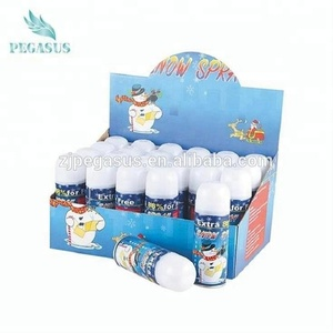 Most popular wholesale artifical 250ml birthday party foam white snow spray