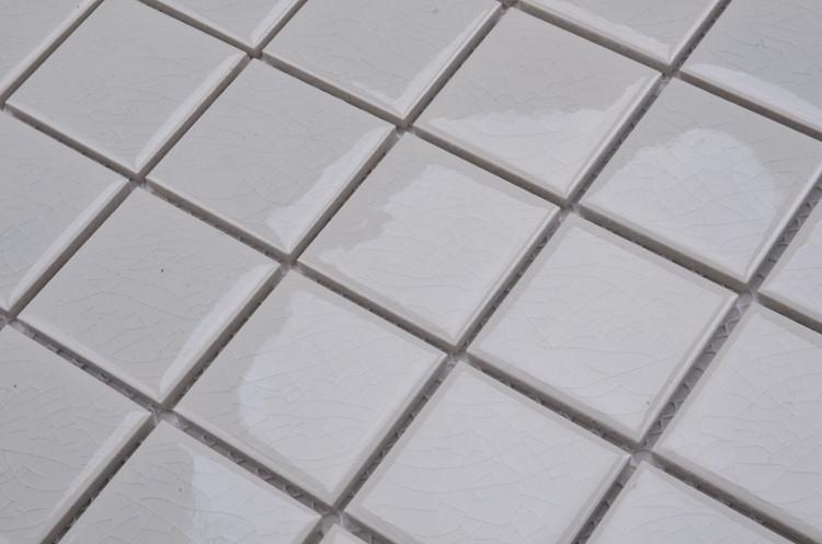 Md038t 10x10 white tile 1 inch ceramic tile ceramic mosaic for 10x10 ceramic floor tile