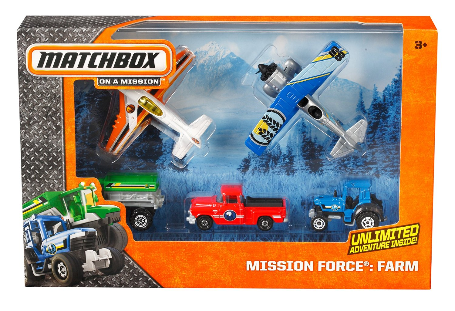 Mission Headquarters Playset with 10 Aircraft Sonstige Matchbox Sky Busters Missions