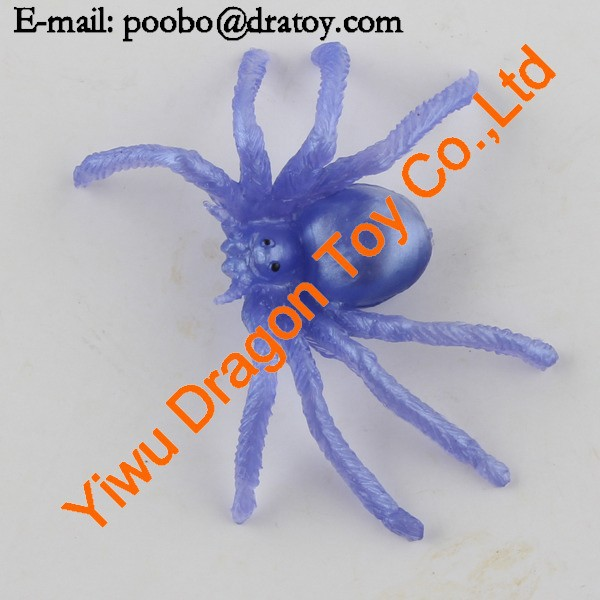 promotional cheap sticky spider toy
