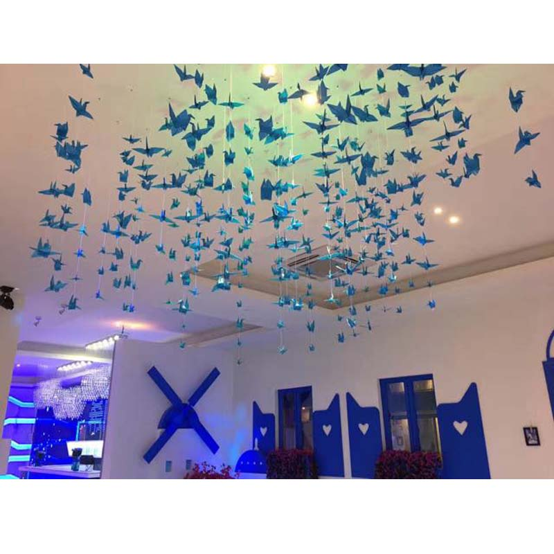 Blue Single Color Premium Origami Paper – Paper Tree - The Origami ...   800x800