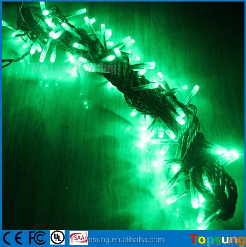 Hot Sale 100 Led 220v Christmas Warm White Led Flashing String ...