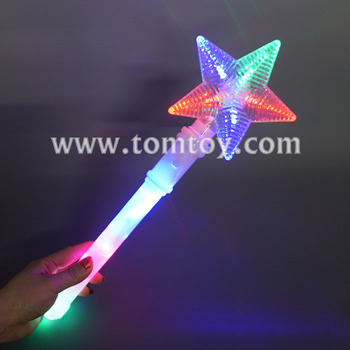Christmas Star LED Light Up Wand