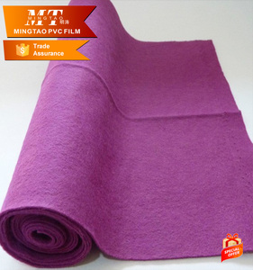 non slip backing fabrics needle punched felt nonwoven fabric