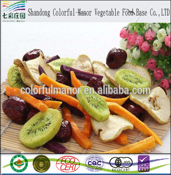 Dried Fruits And Vegetables Snacks China Supplier