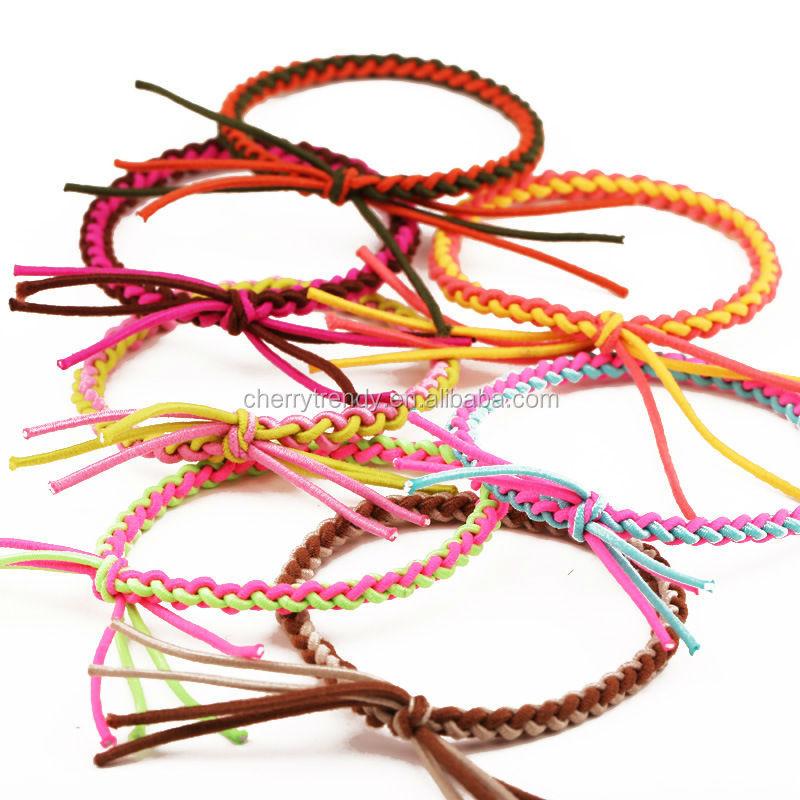 Lucky Girl Hair Ties Bungee Cord Hair Ties Buy Elastic Hair Ties