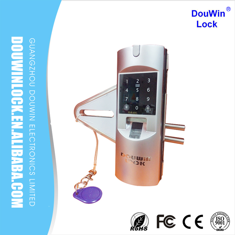 Electronic office glass door electric strike lock