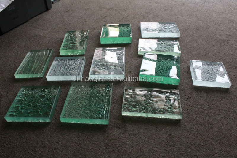 Glass Dining Table, Art Glass Table