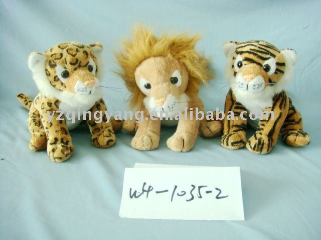 high quality plush toy jungle animals