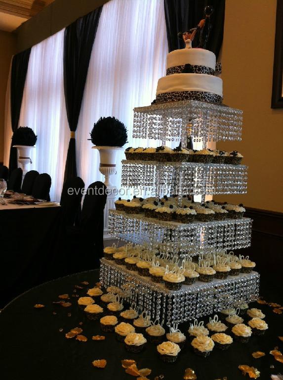 Black Cake Stands