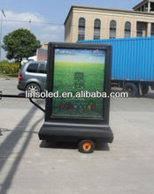 Mobile Advertising Sign&Light Box&Ligting Billboard Trailer&Motorcycle&Bicycle
