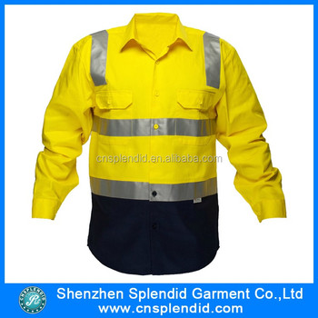 6c47579c617 shenzhen hi vis workwear t wholesale mechanic safety shirts. View larger  image