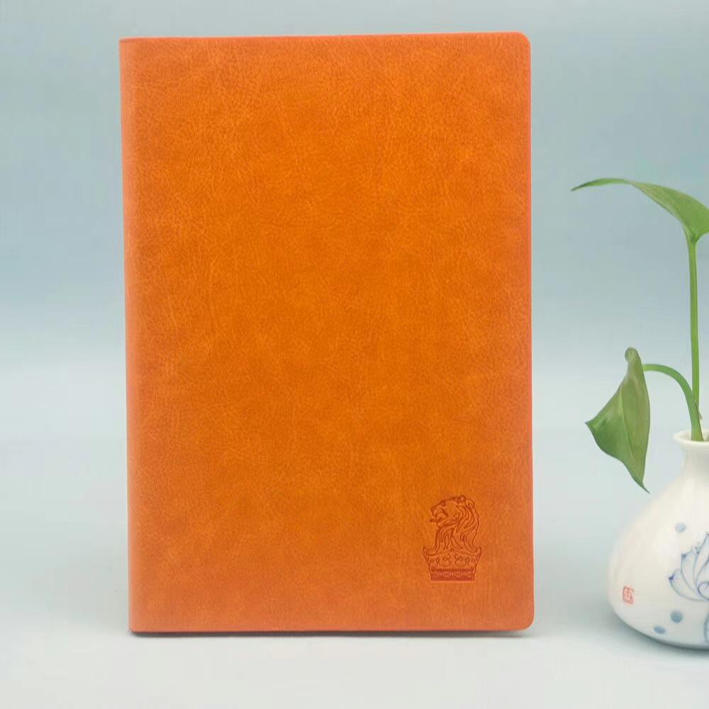 2019 personalizzato di cuoio dell'unità di elaborazione planner diario a5 logo personalizzato notebook