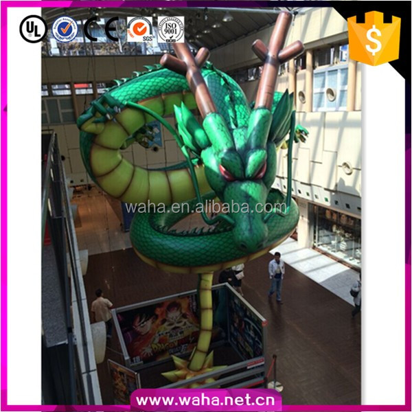 decoration Halloween inflatable dragon with air pump