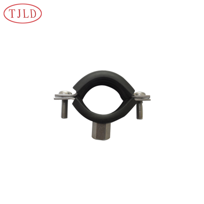 High Quality Rubber Pipe Clamp M8 Rubber Lined