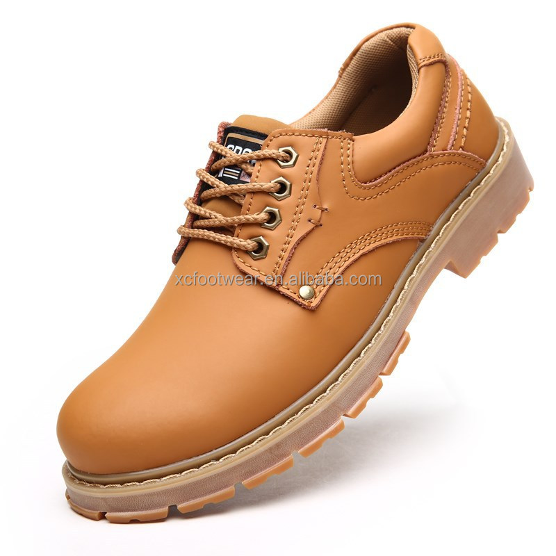 Steel Toe Feature security boots safety boots for heavy work, plastic work boots, work boots made in china