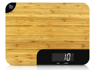 Amazon 2019 Smart Digital Kitchen Scale Bamboo Vegetable Balance Food Scale
