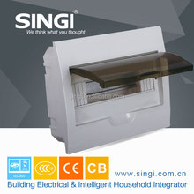 High quality and well sales plastic distribution box/panel used ABS