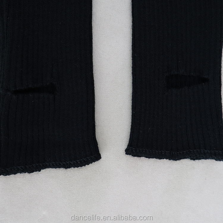 K2831 dance stocking hand knit leg warmers with Stirrups dance leg warmer cheap leg warmers