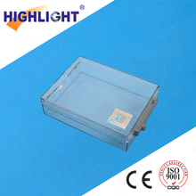 Anti-Theft 58KHz Transparent Plastic Display Case EAS Security Safer Boxes with Hook for Retail