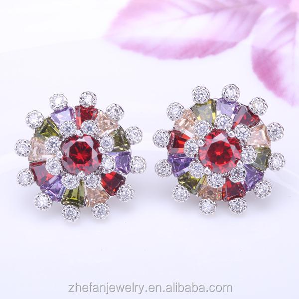 Dames boucles d'oreilles dessins photos inde imitation bijoux jaipur