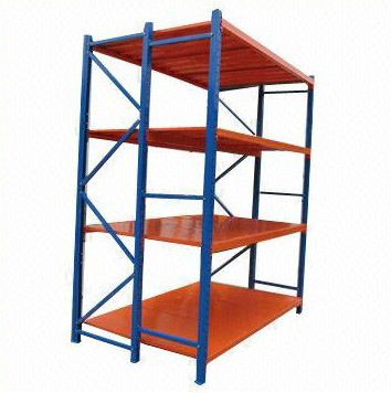 long Span Metal Shelves, Warehouse Storage Shelving Rack