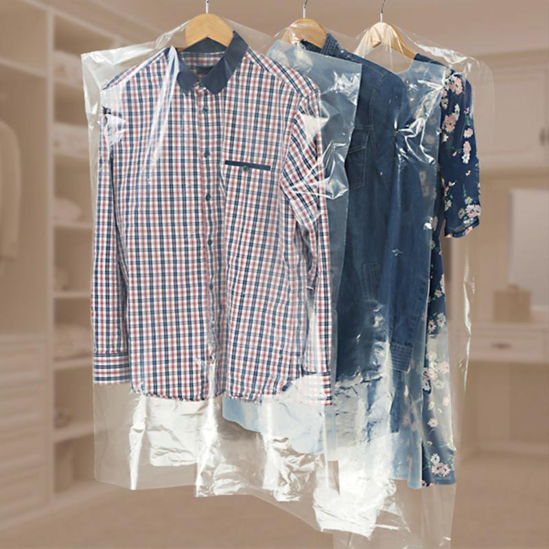 Kunststoff anzug abdeckung für verpackung anzug in wäsche-shop, kunststoff kleidersack